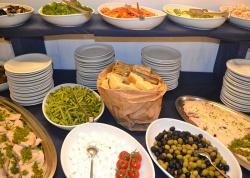 antipasti a buffet