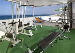 spazio dedicato al fitness
