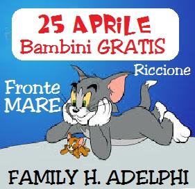 25 Aprile Riccione Offerte Hotel con Piscina
