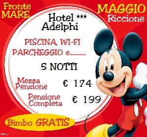 Last Minute vacanze Maggio Hotel con Piscina Riccione