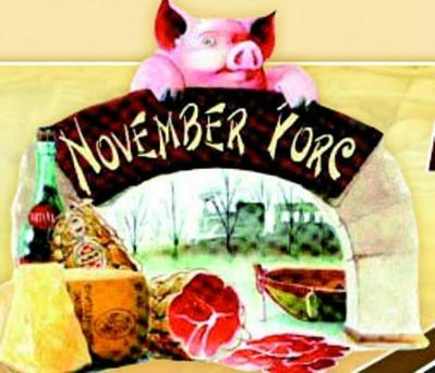 November Porc Fiera d'autunno