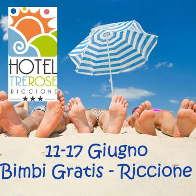 Offerta 11-17 Giugno Hotel con Piscina Riccione