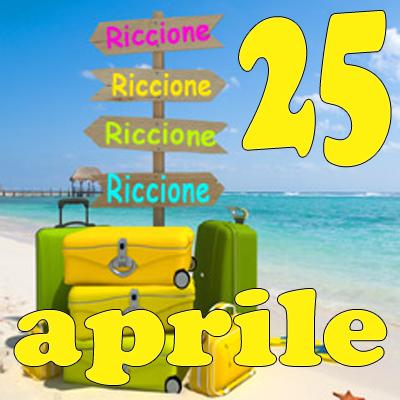 Ponte 25 Aprile a Riccione