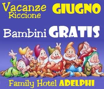 Hotel con Piscina Bambini Gratis Riccione
