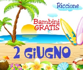 Offerta 2 Giugno Hotel Riccione, Last Minute giugno Hotel con piscina Riccione