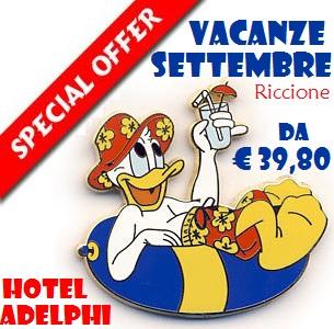 Offerta settembre hotel Riccione