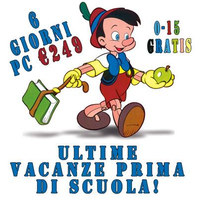 offerte Riccione Settembre 6 giorni da € 249 bimbi gratis 0-15 anni