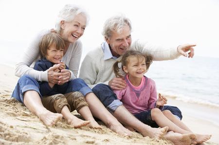 Nonni attivi e nipoti felici