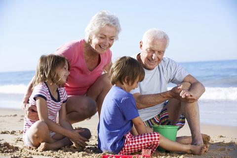 Al Mare con i Nonni a Giugno - Bimbi gratis