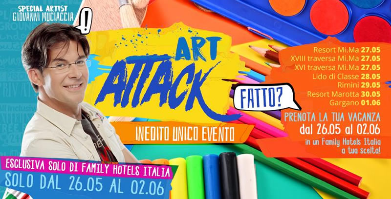 Art Attack Week Lido di Classe