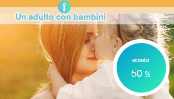 Un Adulto con Bambini in Hotel Milano Marittima