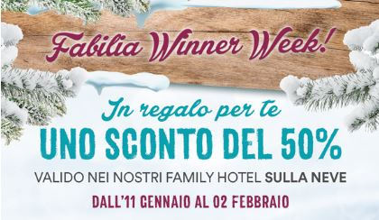 Offerta Cliente winner week