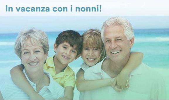 Bimbi in vacanza con i nonni