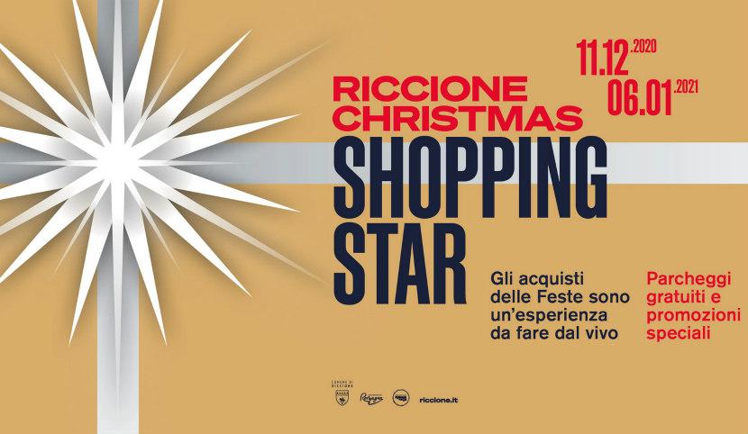 Riccione Christmas Shopping Star